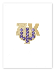 Jeweled Badge Print