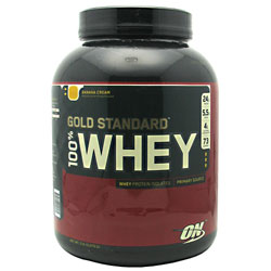 Optimum Nutrition Gold Standard 100% Whey Banana Cream 5 lb