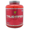BSN TRUE-MASS Weight Gainer, Muscle Mass Gainer Protein Powder, Chocolate Milkshake, 5.82 Pound