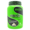 SPECIES NUTRITION ISOLYZE 22 SERVING VANILLA ICE CREAM