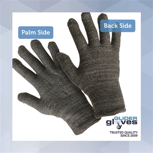 bbea63598b Glider Gloves Winter Style Touchscreen Gloves - Black Grey Honeysuckle