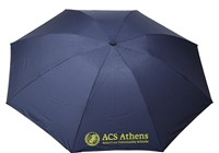 G12_Umbrella with ACS Athens Logo with Owl