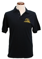 P02_Short Sleeve Polo Shirt - Lancers logo