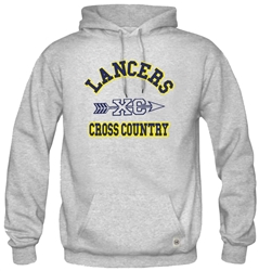 SA14_Hooded Sweatshirt With Large ACS Athens Cross Country Logo