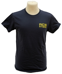 T9f_Blue Navy T-shirt with Large ACS Athletics logo_T15