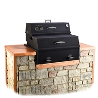 The Good One Open Range Generation III Built-in Smoker/Grill