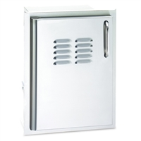 AOG Single Access Door with Tank Tray & Louvers