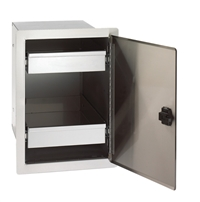 Fire Magic Legacy Single Door With Double Drawers, 20-In x 14-In