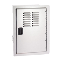 Fire Magic Legacy Single Door with Louvers, 20-In x 14-In