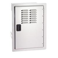 Fire Magic Legacy Single Door With Tank Tray And Louvers, 20-In x 14-In
