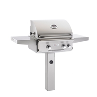 "AOG 24-in In-Ground Post Mount Grill ""L"" Series Grill Only"