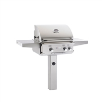 "AOG 24-in In-Ground Grill ""L"" Series with Back Burner and Rotisserie Kit"