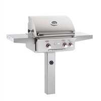 "AOG 24-in In-Ground Post Mount Grill ""T"" Series Grill Only"