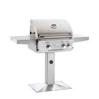 "AOG 24-in Patio Post Mount Grill ""L"" Series Grill Only"