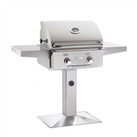"AOG 24-in Patio Post Mount Grill ""T"" Series Grill Only"