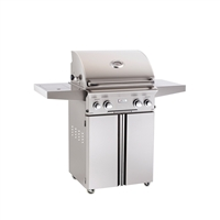 "AOG 24-in Stand Alone Grill ""L"" Series with Rotisserie Kit and Side Burner"