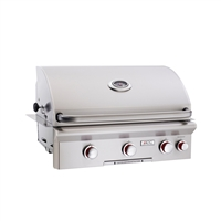 "AOG 30-in Built-In Grill ""T"" Series with Back Burner and Rotisserie Kit"