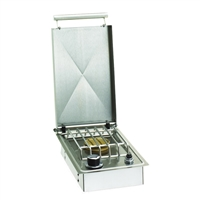 Fire Magic Drop-In Side Burner with Hinged Lid
