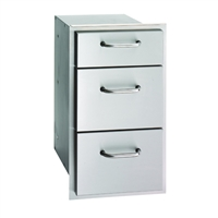 Fire Magic Select Triple Drawer, 26-In x 14-In