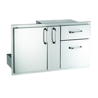 Fire Magic Select Door/Drawer Combo with Platter Storage, 18-IN x 36-IN