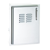 Fire Magic Select Single Door With Tank Tray And Louvers, 21-In x 14-In