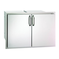 Fire Magic Select Double Doors With Dual Drawers And Trash Tray, 21-In x 30-In
