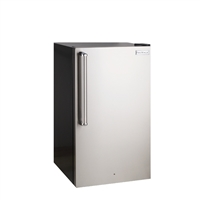 Fire Magic Refrigerator with Stainless Steel Squared Edge Premium Door