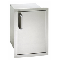 Fire Magic Flush Mounted Single Door With Double Drawers Soft Close, 21-In x 14-In
