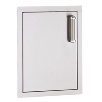 Fire Magic Flush Mounted Single Door Soft Close, 21-In x 14-In