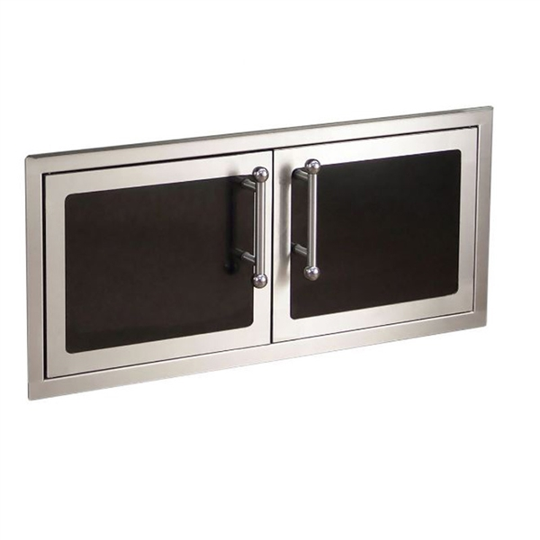 Fire Magic Black Diamond Double Doors