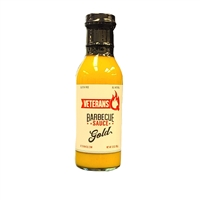 Veterans Q Gold Barbecue Sauce - 12 oz