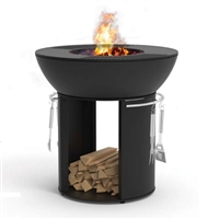 Hearthstone Cast Iron Fire Pit With Cooking Stand