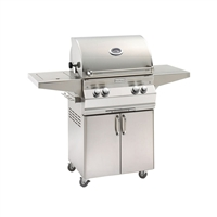 Fire Magic Aurora A430S Stand Alone Grill with Single Side Burner