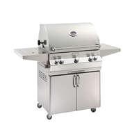 Fire Magic Aurora A660S Stand Alone Grill With Side Burner