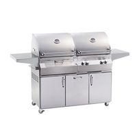 Fire Magic Aurora A830S Stand Alone Gas/Charcoal Combo Grills