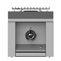 "Aspire By Hestan 12"" Single Side Burner"