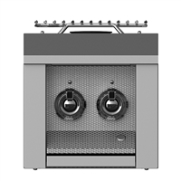 "Aspire By Hestan 12"" Double Side Burner"