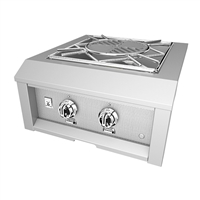 Hestan 24-in Outdoor Power Burner - Built In