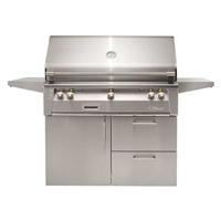 "Alfresco 42"" Deluxe Cart Grill"