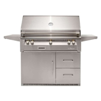 "Alfresco 42"" Refrigerated Cart Grill"