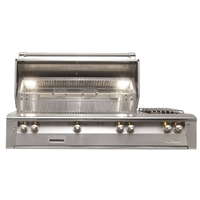 "Alfresco 56"" Built-In Deluxe Grill"