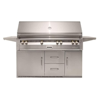 "Alfresco 56"" Refrigerated Luxury All-Grill"