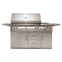 "Alfresco 56"" Refrigerated Luxury Deluxe Grill"