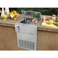 "Alfresco 24"" Versa Chill Drop-In Counter Top Refrigerator"