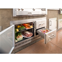 "Alfresco 42"" 7.25 Cubic Ft. Under-Grill Refrigerator"