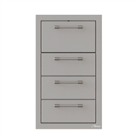 "Alfresco 17"" Triple Drawer, Towel Holder Combo"