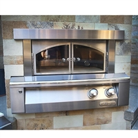 "Alfresco 30"" Built-In Pizza Oven"