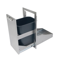 "Alfresco 15"" Dual Trash Center Drawer, Deep"
