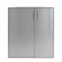 "Alfresco 30"" High Profile Dry Storage Pantry, 33"" H"