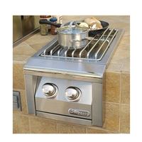 Alfresco Built-In, Dual Side Burner